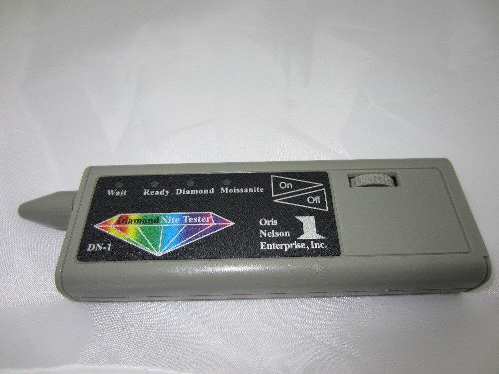 Libero del diamante di trasporto penna di prova, tester portatile macchina a due-in-one, rivelatore di diamante moissanites selettore