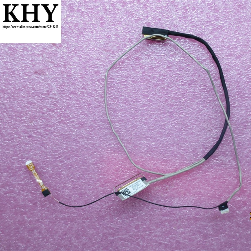 Original para ThinkPad T470P T460P EDP LCD WQHD 2560*1440 p Linha de Cabo de Vídeo De Tela FRU 01AV915 SC10K66277