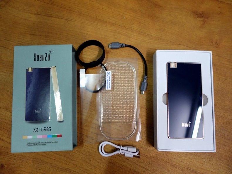 GZLOZONE HIFI portátil amplificador de auriculares, DAC USB OTG decodificación WM8740 + BB OPA2107 L3-47