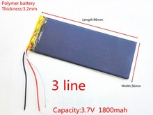 RNEW 323696 XWD 323696 P 323696 3.8 V 1800 MAH batterie li-lion pour chine clone MTK téléphone goophone I6 6 S IP6