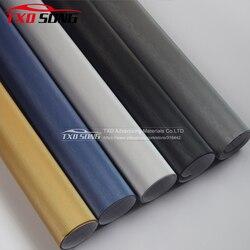 Плёнка под шлифованный алюминий, разные цвета и размеры