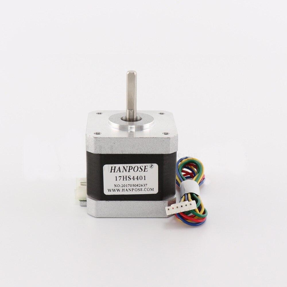 Motor paso a paso 42 motor Nema 17 1.7A (17HS4401) 3D impresora motor y CNC XYZ