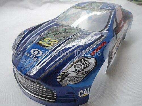 Ewellsold NO:062 190mm  PVC painted 1:10 body Shell for 1:10 1/10 RC car 2pcs/lot