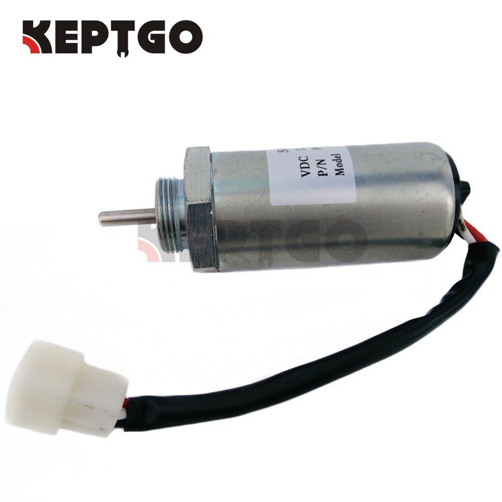 Fuel Stop Solenóide 897209-1152 MV2-40 24V para Isuzu Motor Hitachi 4LE1 4LE2 EX55
