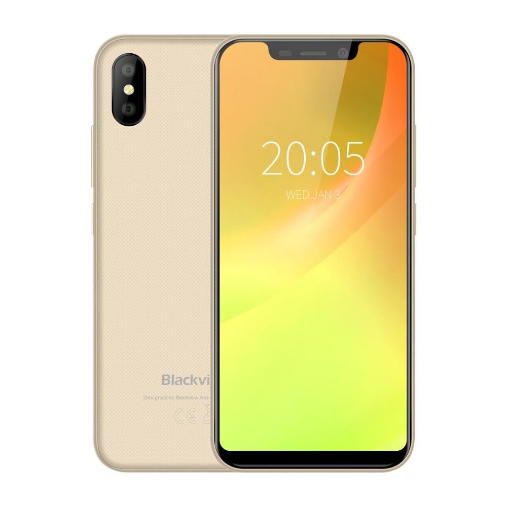 Blackview A30 смартфон с 5,5-дюймовым 199, четырёхъядерным процессором MTK6580A, ОЗУ 2 Гб, ПЗУ 16 Гб, Android 8,1