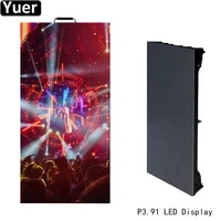 8pcslot p3 91 hd led display 50x100cm led advertisement panel smd2020 dj disco light stage led video display module video wall