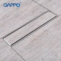 GAPPO     drain de sol en acier inoxydable pour salle de bain  avec couvercle de douche