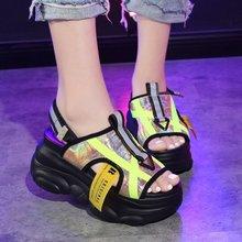 Summer Ladies Sandals Black Womens Shoes 2019 Breathable Comfortable Non-slip Ladies Casual Beach Platform Sandals Womens Shoe