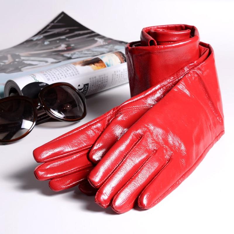 2019 Spring Women Genuine Leather 60cm/70cm Super Long Evening Gloves Female Customized Large Size Lengthen Black/Red Luvas
