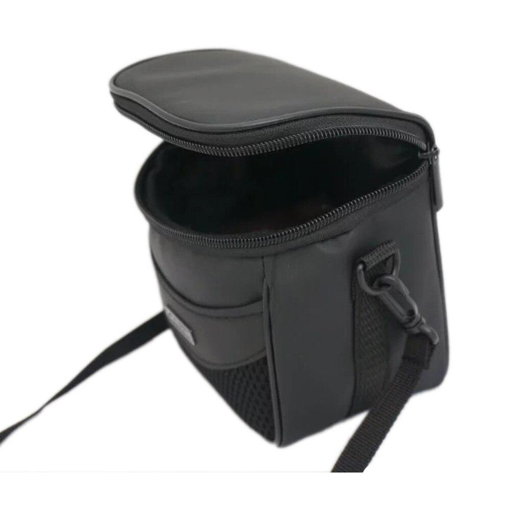 Cámara negra bolsa caso para Canon EOS M100 M50 M10 M6 M5 M3 M Powershot G5 x SX540 SX530 SX520 SX510 SX500 HS SX430 SX420 SX410