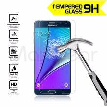 0,3 MM 2.5D 9H protector de pantalla de vidrio templado de guardia película escudo para Samsung Galaxy nota 2 3 4 5 S3 S4 S5 mini S6 S7