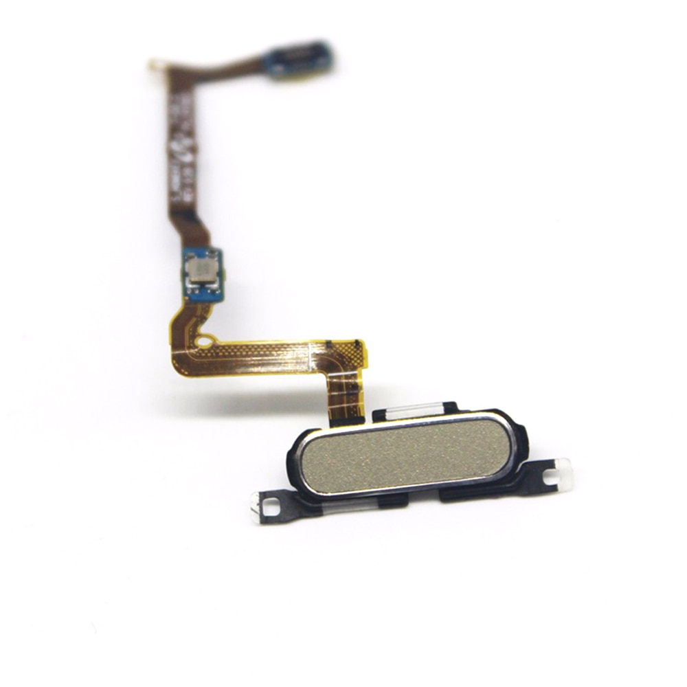 Original G850F Knopf mit Flexkabel Reparatur Teil für Samsung Galaxy Alpha S5 mini SM-G850F gold/Weiß/schwarz können wählen