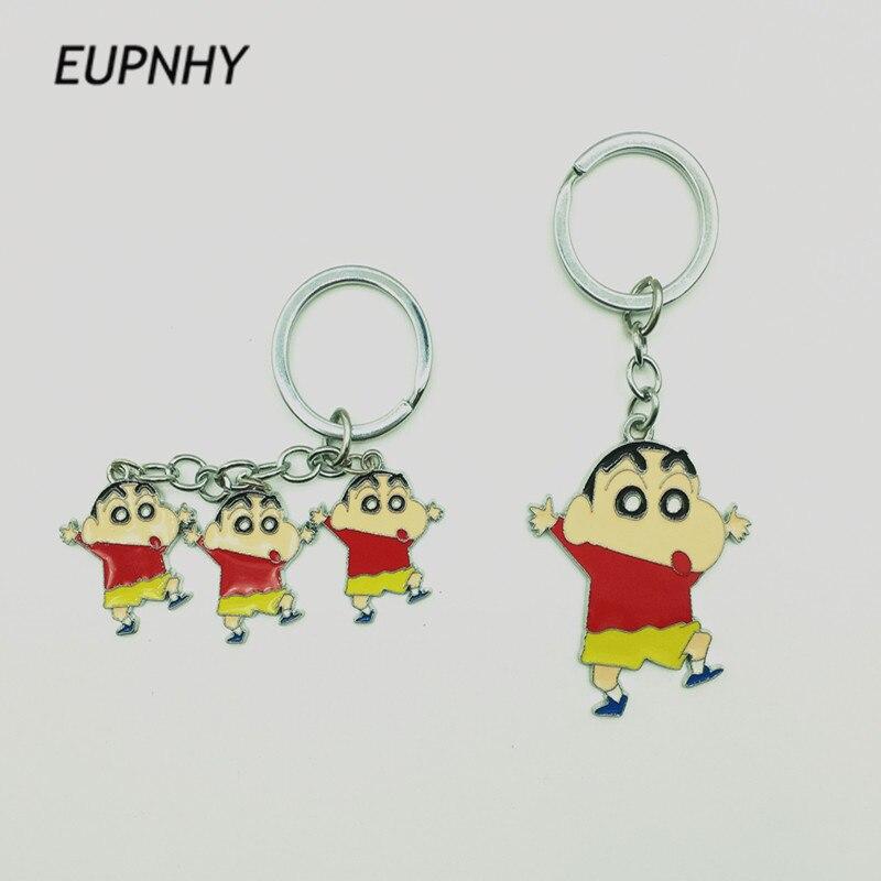 EUPNHY мультфильм карандаш Shinchan брелок для ключей автомобиля сумка женщин кулон