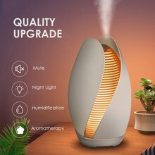 Difusor de Aroma de brote de flor hermosa humidificador de aire silencioso ultrasónico DC24V 110ml difusor de aceite esencial de aromaterapia para el hogar