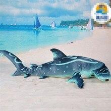100 cm taille requin marteau en peluche jouet simulé requin doux en peluche poupée de haute qualité en peluche jouet approvisionnement dusine