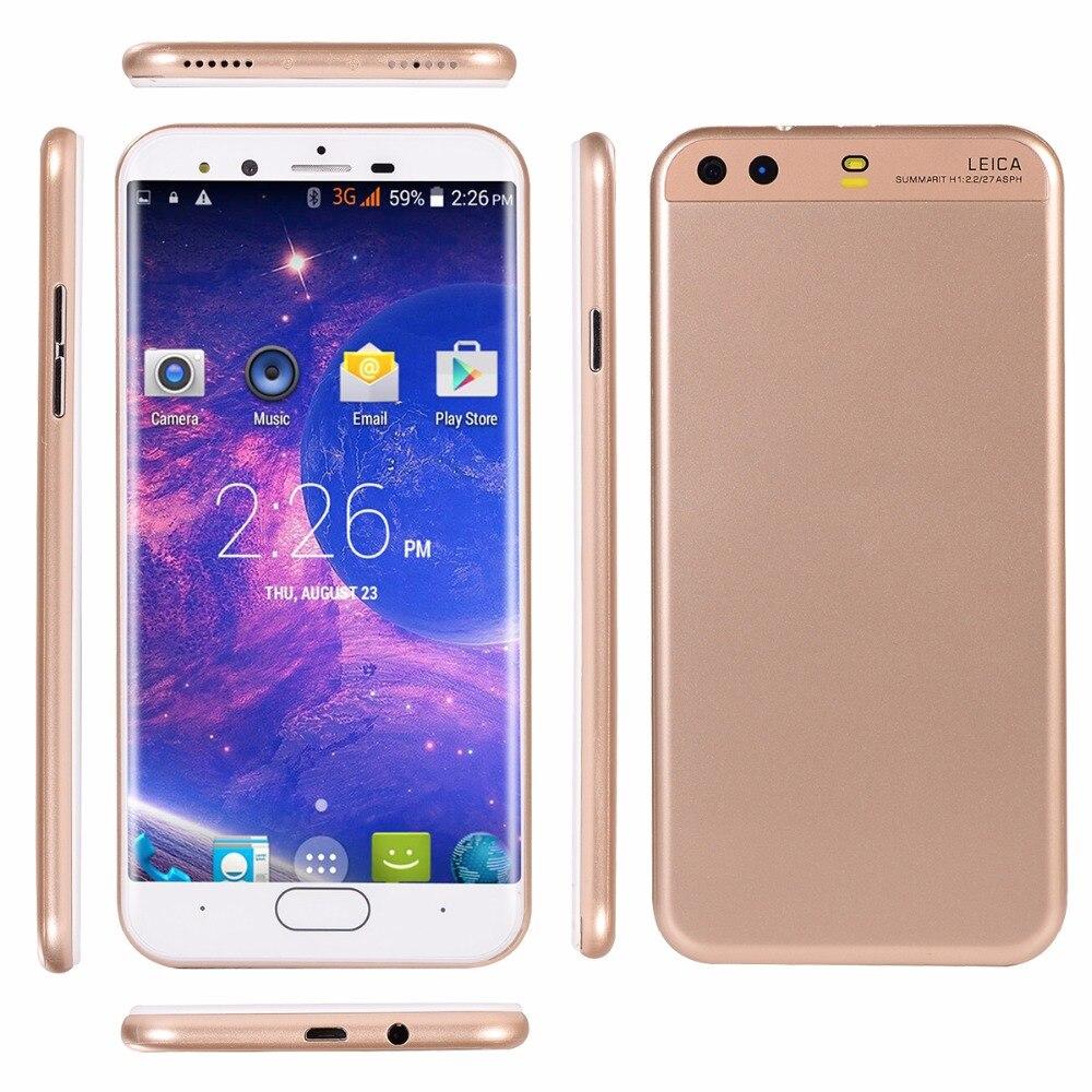 "Original GuoPhone P10 teléfono móvil MTK6572 Dual Core Android 6,0 de 5,0 ""IPS 854x480x512 MB RAM 4GB ROM Dual Sim Cámara Dual"