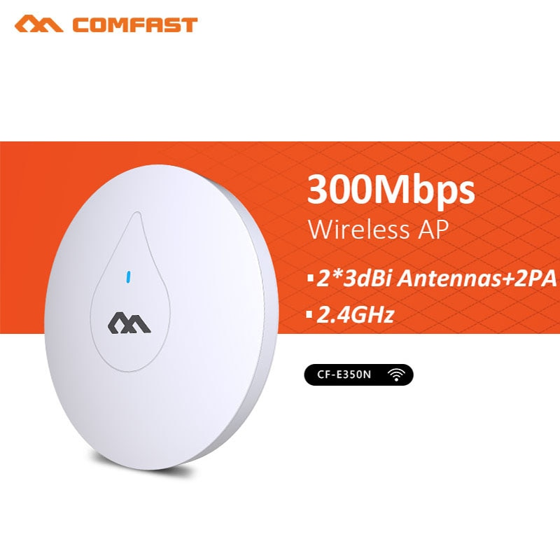 300Mbps Through Wall CF-E350N 2.4G Indoor access point Wireless wifi Ceiling AP Bridge Signal Amplie