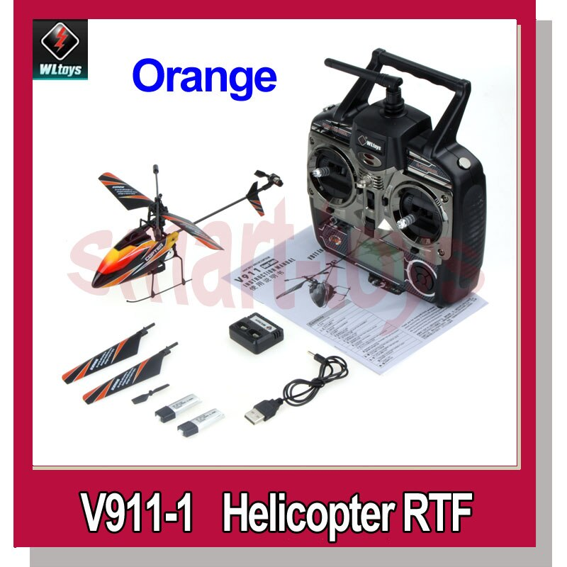WLtoys V911 upgrade version v911-1 helikopter z nowa wtyczka zielona