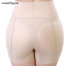 Culotte de fond Shaper femmes vidées sous-vêtements respirants rehausseur de hanche