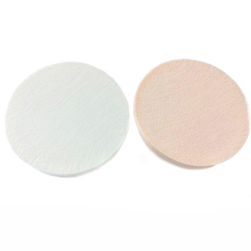 2 шт 90 мм большой круглый макияж основа Губка puff пудра puff Косметический Макияж Уход за лицом инструменты Белый телесный