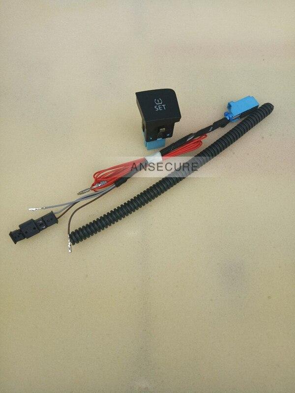 Botão interruptor de pressão dos pneus + chicote de fios para vw volkswagen passat b6 35d 927 121 ou 3c0 927 121 d
