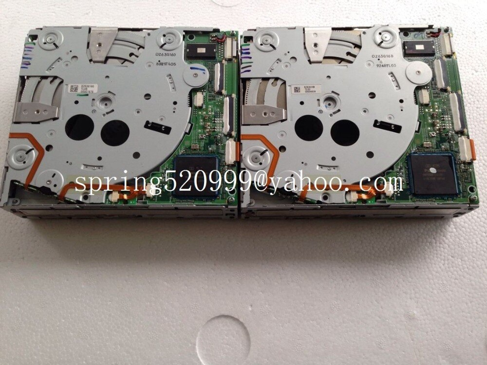 Оригинальный новый Alpine 6CD/DVD механизм чейнджер DZ63G160 для Mercedes COMAND NTG2.5 NTG4 HDD навигация W204 C Класс