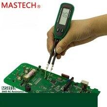 Inteligentny Tester SMD MASTECH MS8910 cyfrowy multimetr 3000 zlicza RC dioda pojemności rezystancji miernik Tester Auto Scan