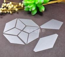 Modèles de Patchwork en plastique Quadrangle étoile anis octogone modèle de Patchwork bricolage à la main