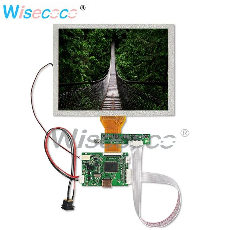 8,0 pulgadas LCD TFT LCD 800x600 Alta Resolución HDMI TTL 50pin con placa controladora
