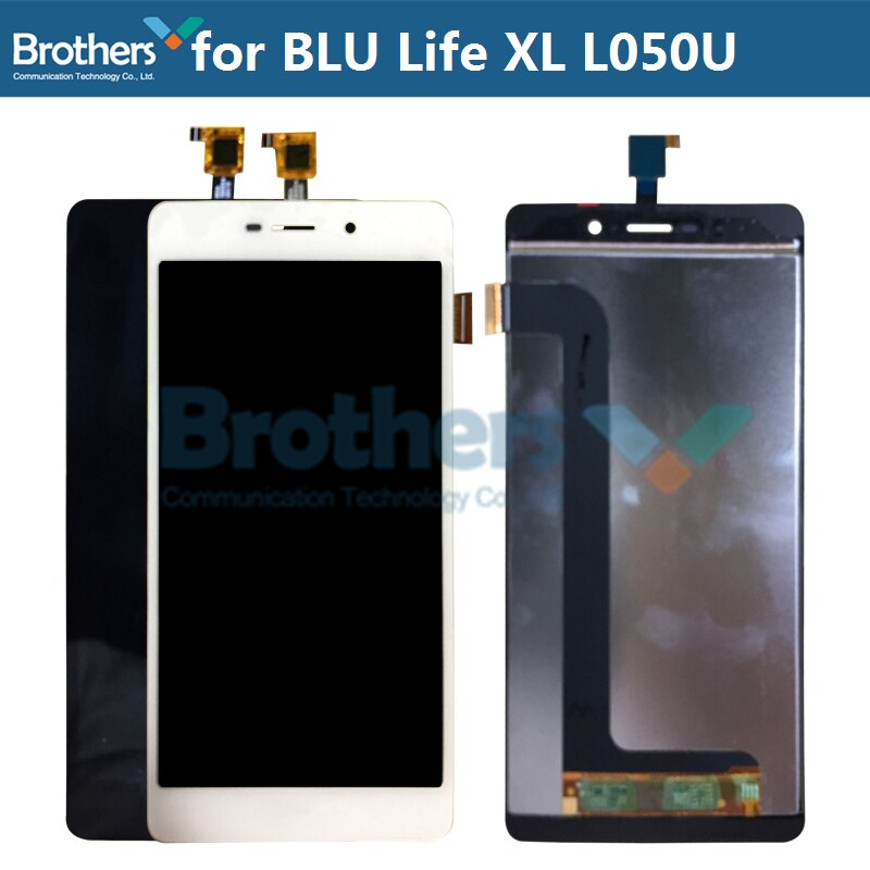 Para BLU Life XL pantalla LCD L030L L050L pantalla LCD para BLU L050U pantalla táctil digitalizador LCD montaje Original probado reemplazo