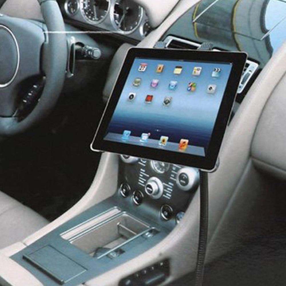 Car Floor Seat Flexible Gooseneck Mount Holder for iPad Automobile Support Bracket for 7-10.1