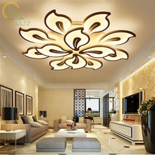 AC85-260V Modern Acrylic Ceiling Lights for living room bedroom White Simple Plafon Led Ceiling Lamp for Home Lighting Fixtures