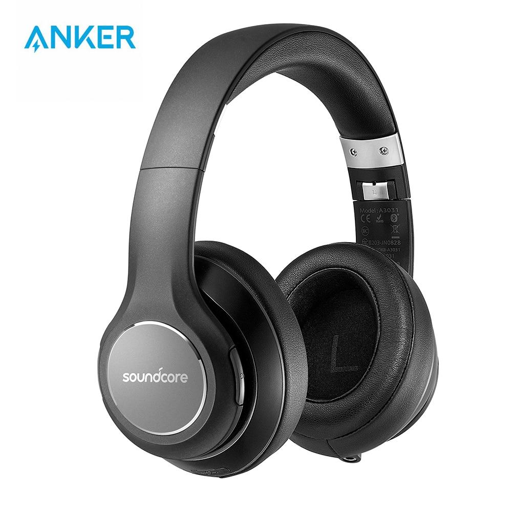 Anker Soundcore от Vortex беспроводные Накладные наушники с 20H Play Time Bluetooth 4,1 Hi-Fi стерео звуковые наушники с эффектом памяти