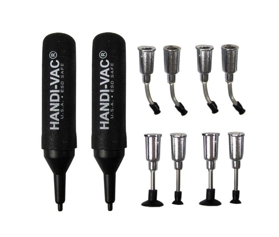 2017 New Lens Screen Holder IC IC Bag ESD Anti-static Vacuum Pen 2pcs HANDI-VAC Air Bag Suction Pen + 8  nozzles, Vacuum picker