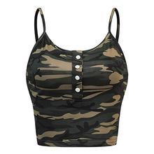 Hot Deals Summer Women Camouflage Sleeveless Tank Top Bustier Bra Vest streetwear Fashionable 2019 New Sports Vest sexy top ED