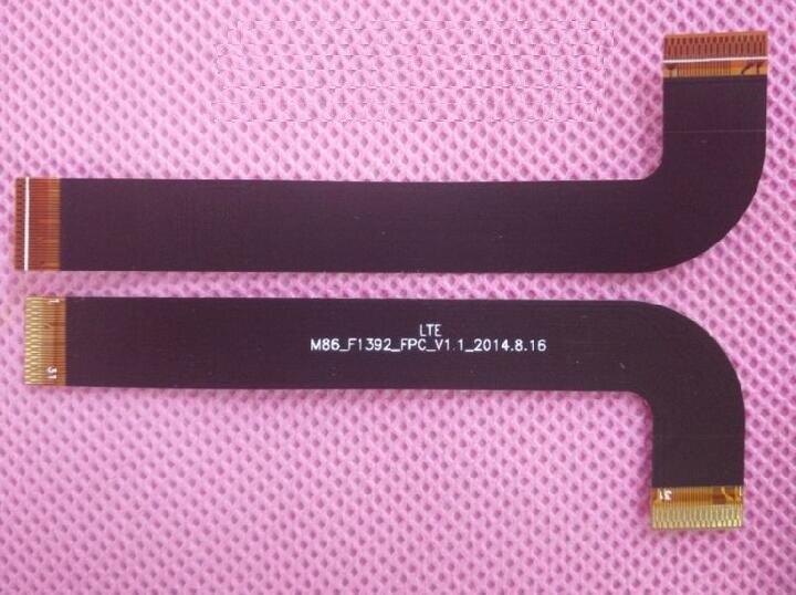 100% Оригинальный ЖК-дисплей гибкий кабель для Teclast P80 3G четырехъядерный 8,0