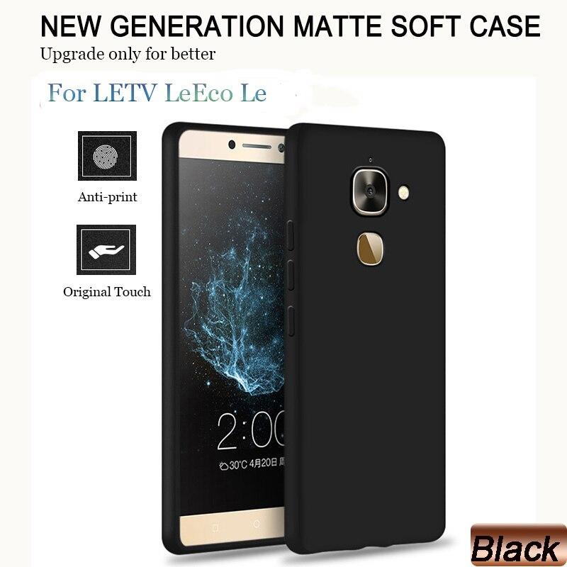 Funda de TPU para LETV LeEco Le 2 X527 S3 X626 X622 Le Max 2 X820 Cool 1 Le Pro 3 X720 X526, funda completa de silicona blanda mate