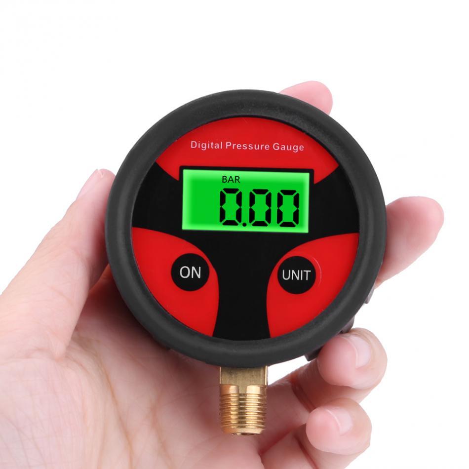 0-200PSI LCD Digital Tyre Tire Air Pressure Gauge Motorcycle Car Truck Bike Tester Monitoring System