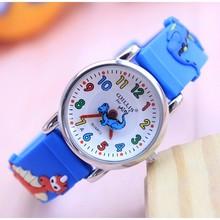 New arrival Fashion Quartz Ocean World dolphin kids cartoon WristWatch clock student Watches Horlog