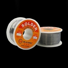 Nouveau 100g 0.6/0.8/1/1. 2 60/40 FLUX 2.0% 45FT étain plomb fil détain fondu noyau de colophane soudure fil à souder rouleau non propre