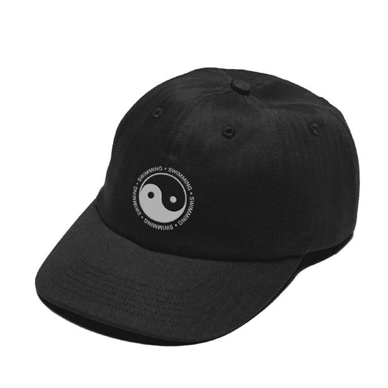 Mac Miller sombrero natación Yin Yang diseño bordado 100% gorro de algodón para papá gorra de béisbol de alta calidad para hombres y mujeres Dropshipping