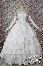 Toradora! Taiga Aisaka robe blanche robe de mariée Costume Cosplay tenue uniforme Halloween sur mesure