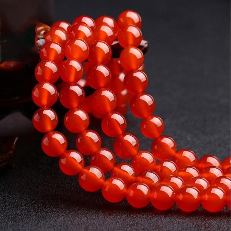 1 нить/лот 4 6 8 10 12 мм красный сердолик Агаты круглые драгоценные камни бусины Сердолик Свободные бусины для самостоятельного изготовления ювелирных изделий ожерелье браслет
