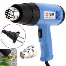 Limitless haute qualité AC220V EU Plug 1500W Volume dair réglable pistolet à chaleur électrique multifonctionnel pistolet à Air chaud portable