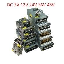 AC DC 5V 12V 24V 36V 48V Switching Power Supply 5 12 24 V 3A 5A 10A SMPS 220V To 12V 5V Source Power Supply 24V 36V 48V 360W