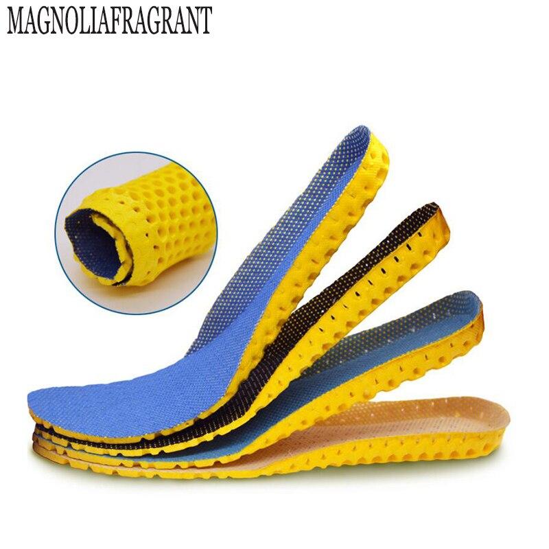 Elástico transpirable absorbente desodorante para plantillas Plantilla de Deportes y Turismo de ocio de moda confort plantilla acolchada w413