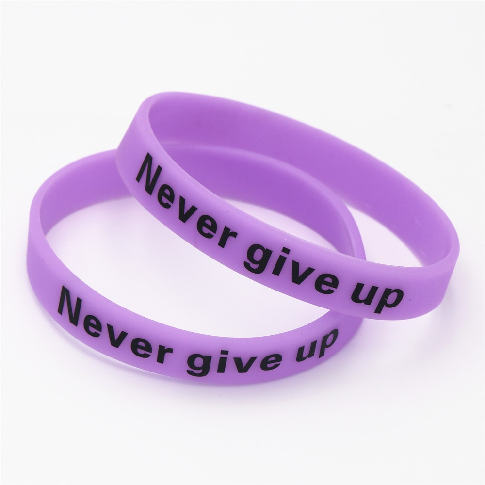 1 шт. фиолетовые голограммы LUKENI, браслеты и браслеты с логотипом, светящиеся в темноте силиконовые браслеты на запястье, подарки SH095Y