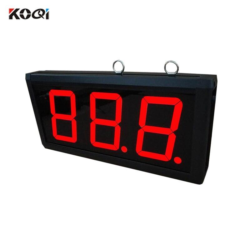 3-digit الالكترونية الصمام عرض عدد K-403 الاستقبال اللاسلكي نظام مطعم المستشفى