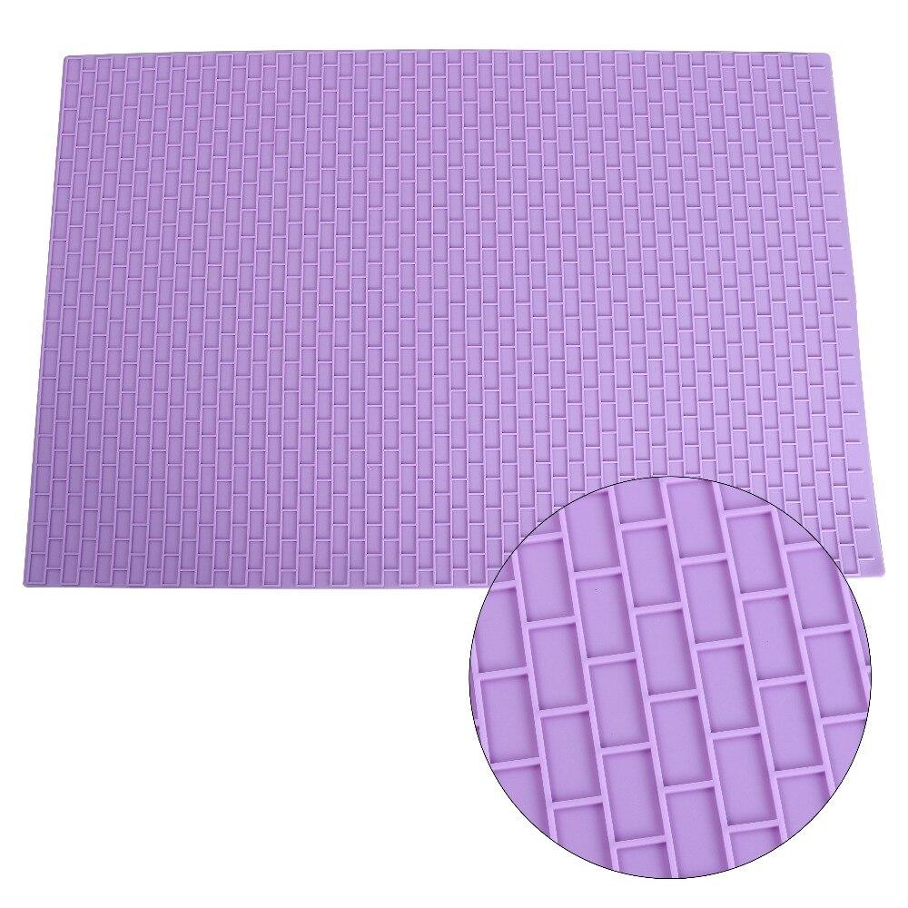 595*395mm patrón de textura de silicona alfombra de encaje Fondant para hornear pasteles hornear molde de encaje herramientas de decoración de pasteles