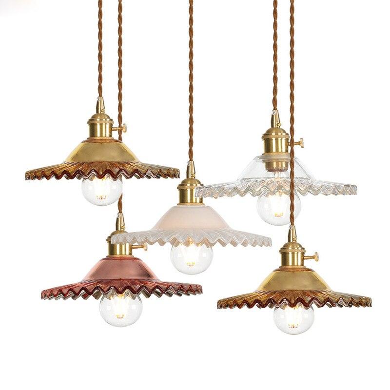 Loft Glass Pendant Lights Fixtures Pendant Lamps For Dinning Living Room Retro Pendant Home Lighting Fixtures Hanglamp Suspensio